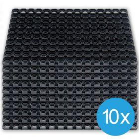 set 10 tappetini antiscivolo 40x60
