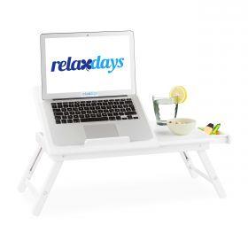 tavolino pieghevole per laptop - bianco