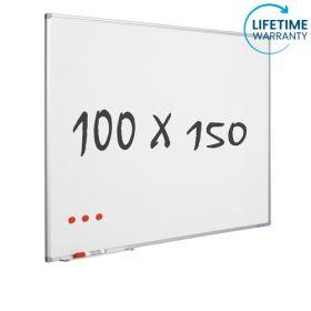 Lavagna bianca 100x150 cm - Magnetica / Smaltata