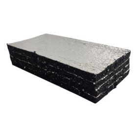 vulplaatje rubber aluminium