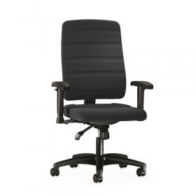 Prosedia sedia da ufficio Yourope 3 - Schienale alto - Nera