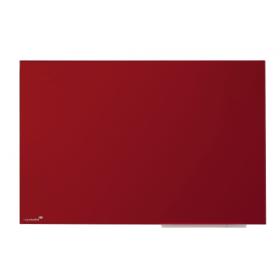 Lavagna in vetro magnetica 60x80 cm - Rossa