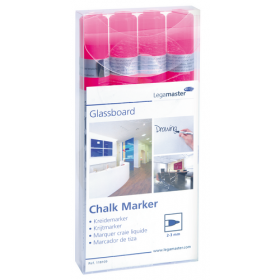 legamaster chalk markers roze