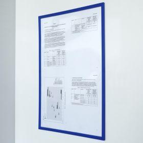Portadocumenti magnetico PRO - A4 - Blu - Per pezzo