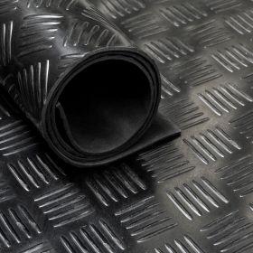 Gomma in rotolo - Motivo mandorlato - 3mm - Largo 150 cm