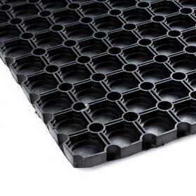 Tappeto in gomma forata100x150 cm - fondo chiuso