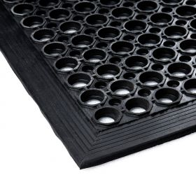 Tappeto in gomma forata 90x150 cm - con bordo