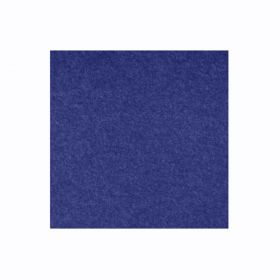 Pannello acustico in feltro PET - 100x100 cm - Blu scuro