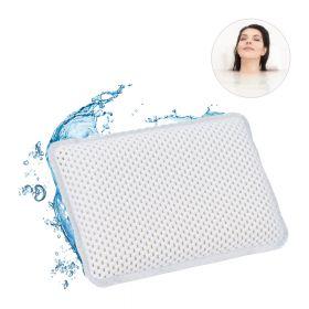 Cuscino per vasca da bagno con ventose - bianco