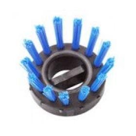 spazzola ad incastro per tappetino -blu