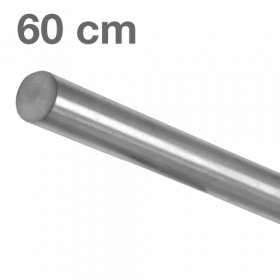 Corrimano in acciaio inox spazzolato - 60 cm