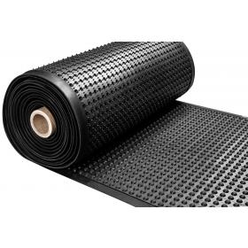 Tappeto da lavoro in gomma in rotolo - Ergonomico - Spessore 15 mm - Largo 91 cm