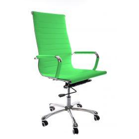 Sedia da ufficio Madrid – Pelle sintetica in PU - Lime