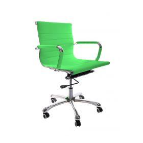 Sedia da ufficio Valencia – Pelle sintetica in PU - Lime