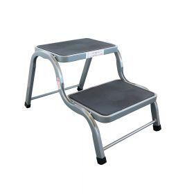 Scaletta per camper / uso domestico - 2 gradiniantiscivolo - Acciaio