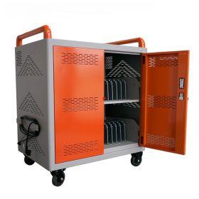 Carrello / Stazione di ricarica per tablets – iCart36 - Arancione
