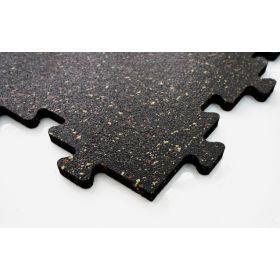 Mattonella per pavimento sportivo - Puzzel  - 50x50cm 8mm - Rossa
