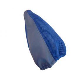 Copri cambio - Vera pelle - blu