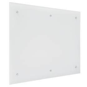 Lavagna in vetro magnetica 100x200 cm - Bianca