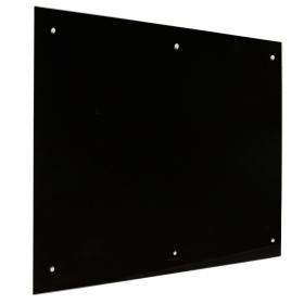 Lavagna in vetro magnetica 100x200 cm - nera