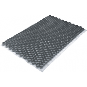 Stabilizzartore di ghiaia Fix Pro - circ. 120x80 cm - 0,9 m² - Grigio