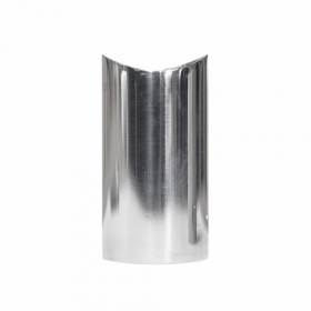 Supporto per corrimano Design - INOX - Lucido -2 pezzi