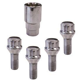 Set di bloccaggi dei bulloni delle ruote Con M12x1,5x26mm B