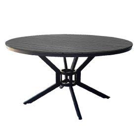 SenS-Line Jerry tavolo da giardino rotondo - Antracite - 140 cm