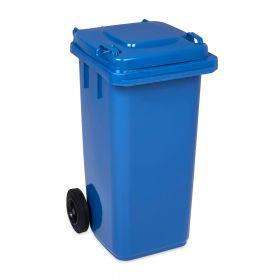 Bidone rifiuti 120 litri - Blu