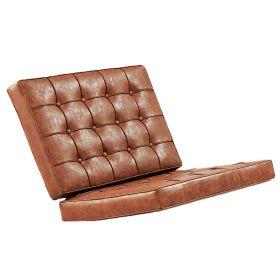 set di cuscini per poltrona Barcellona - marrone vintage