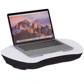 Cuscino per PC con maniglia  - Bianco