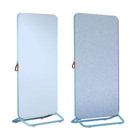 Chameleon Mobile doppia lavagna bianca /  bacheca 89 x 192 cm - Blu