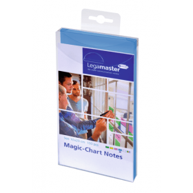 Magic-Chart Post it 10x20 cm - Blu - 100 pezzi