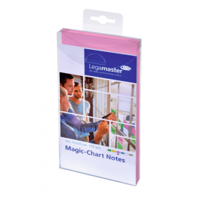 Magic-Chart Post it 10x20 cm - Rosa - 100 pezzi
