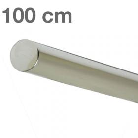 corrimano in acciaio inossidabile lucido 100 cm