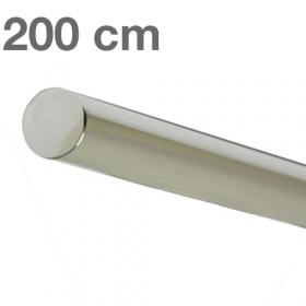 Corrimano in acciaio inox lucido - 200 cm