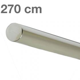 Corrimano in acciaio inox lucido 270 cm