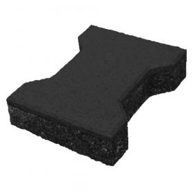 Mattoncino in gomma 43 mm- nero