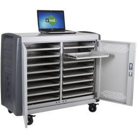 Carrello-Stazione di ricarica per laptop Safecart 16 PRO