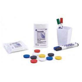 set di accessori per lavagne magnetiche