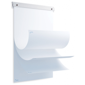 Supporto per blocco  Skin Flipover con 20 fogli - Adatto a lavagne magnetiche Skin