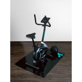 Tappeto protettivo salvapavimento - Per attrezzatura sportiva - Nero - 120 x150 cm