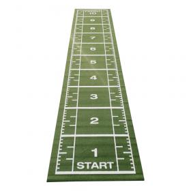 Sprinttrack con erba artificiale - 10,5x 2 m - Verde