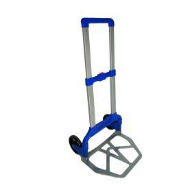 Carrello portapacchi completamente pieghevole  - Alluminio con plastica - Peso massimo 125 kg