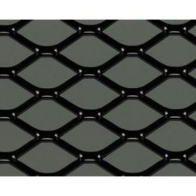 Griglia sportiva in alluminio - design a diamante - verniciata a polvere - universale