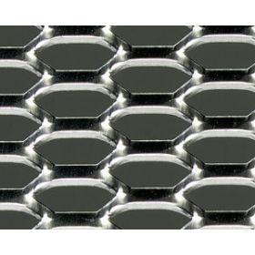 Griglia sportiva in alluminio - design a  nido d'ape - universale
