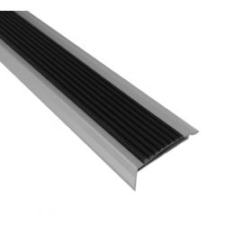 profilo per gradini - gomma e alluminio