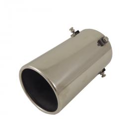 terminale del tubo di scarico in acciaio INOX rotondo