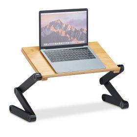 Tavolino da letto / divano per laptop regolabile - Bamboo marrone chiaro