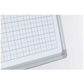 Lavagna bianca con griglia 5x5 - 60x90 cm